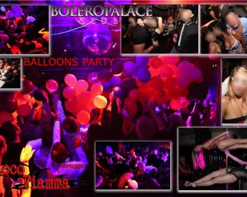 BALLOONS PARTY  Aprile 2014