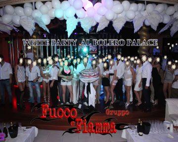 WHITE PARTY GRUPPO FUOCO E FIAMMA Novembre 2015