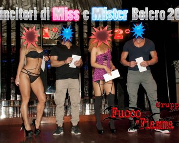 PARTY MISS E MISTER CULETTO Marzo 2016