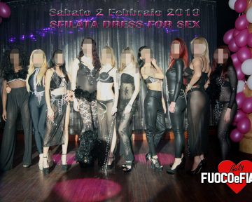 Party con sfilata DRESS FOR SEX (Sabato 2 Febbraio 2019)